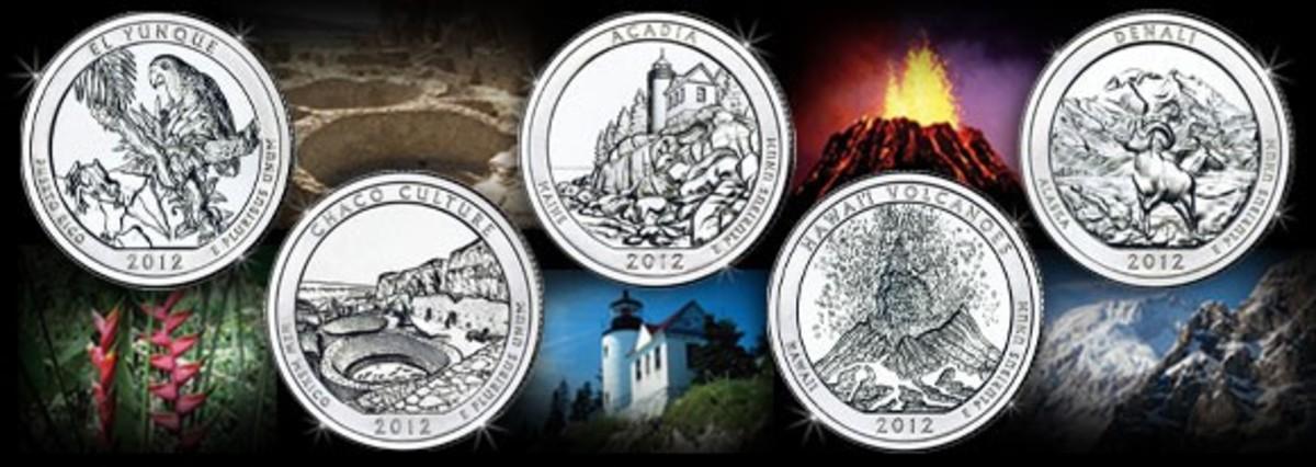 3 Coin Set 2013-P Choice BU D /& S White Mountain Quarter