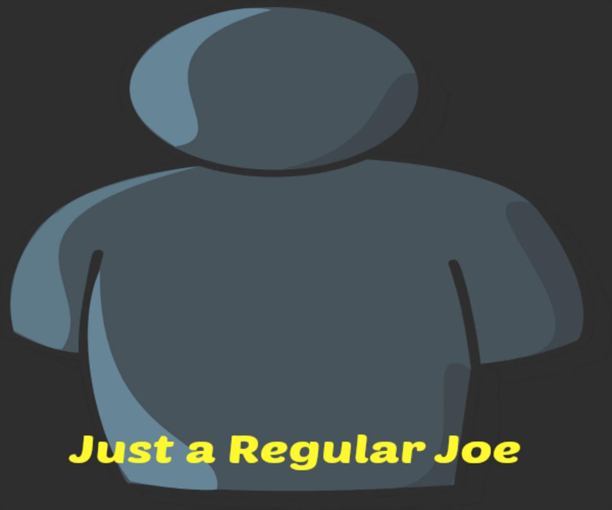 """I almost met """"Joe"""" at a poetry meetup."""