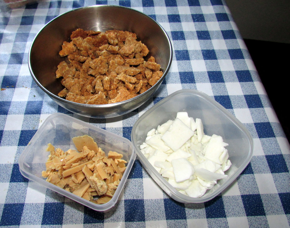 Learn how to make this recipe for peanut butter dog treats at home