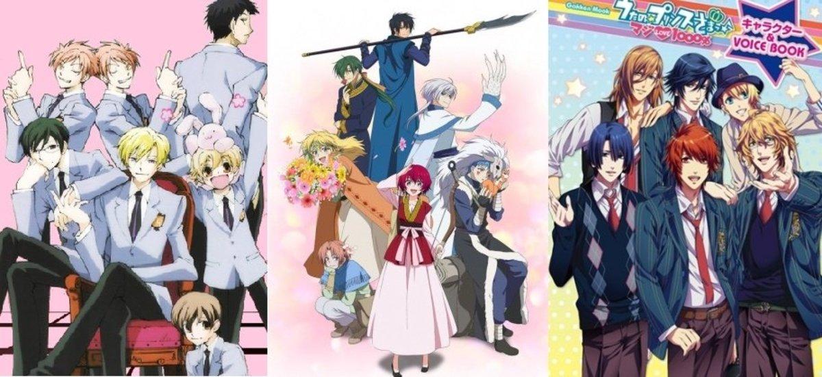 Top 10 Best Reverse Harem Anime