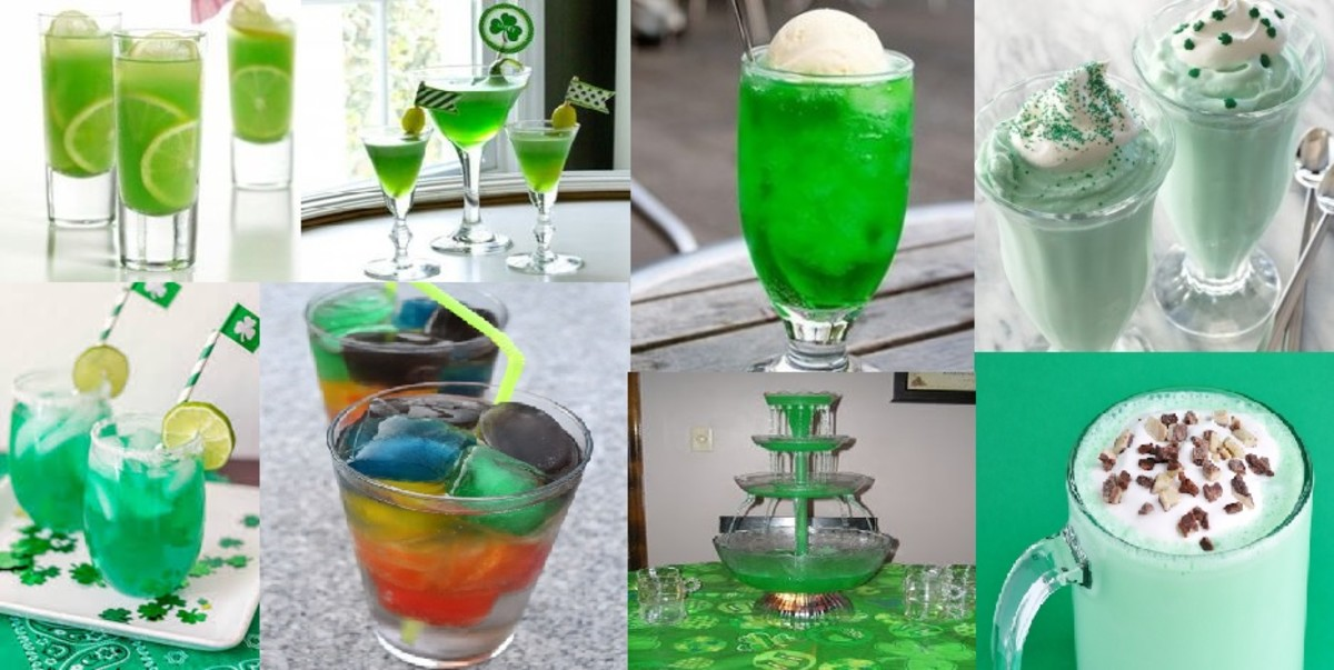 Even if you don't drink alcohol, you can still get into the St. Patrick's Day spirit!