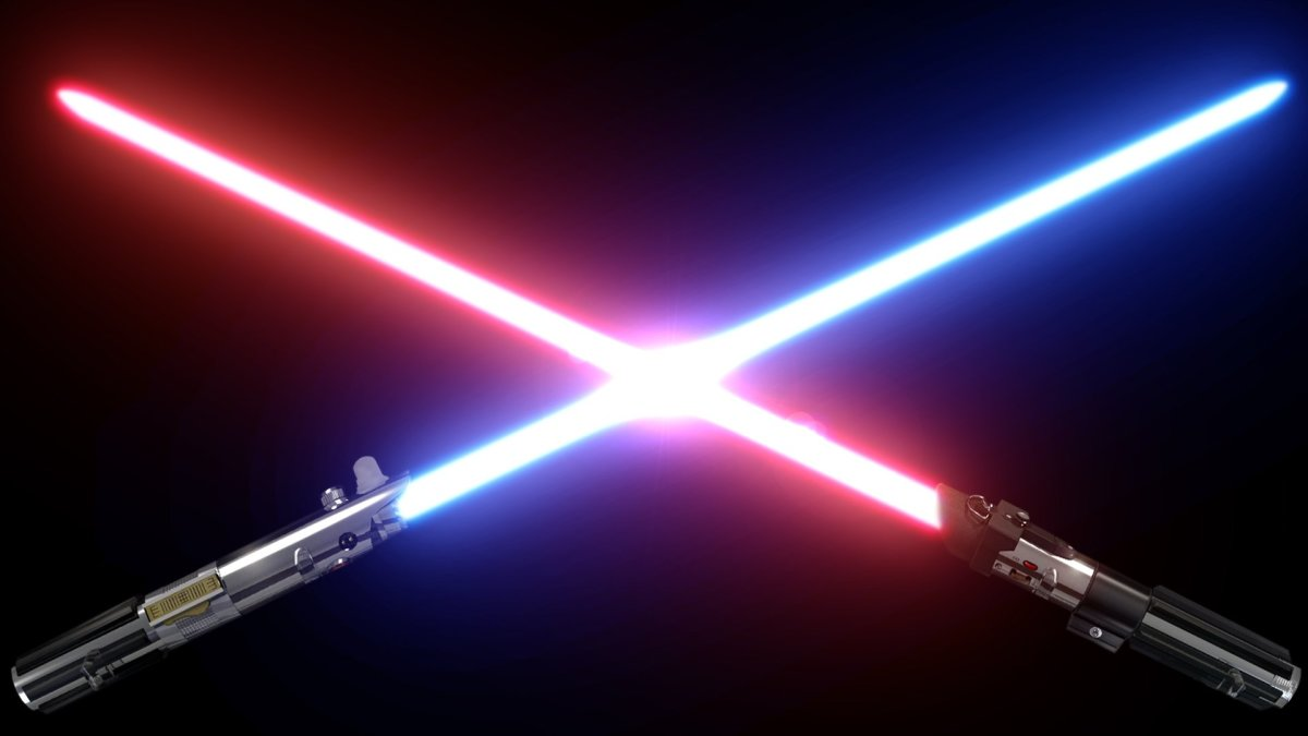Star Wars Laser Light Sword Telescopic Sword 3 Colors For Choosing