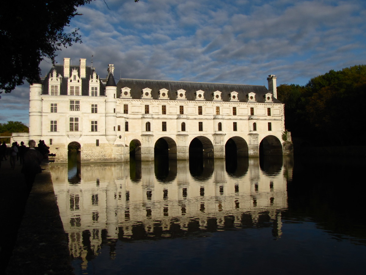Visiting Chateau Chenonceau:  Loire Valley, France