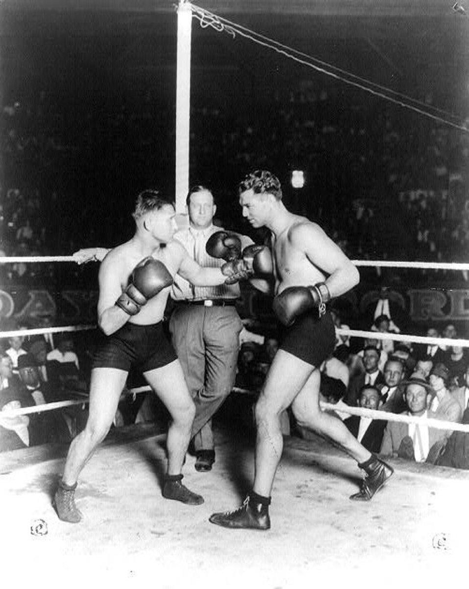 Jack Dempsey vs. Gus Wilson on Sept. 25, 1925