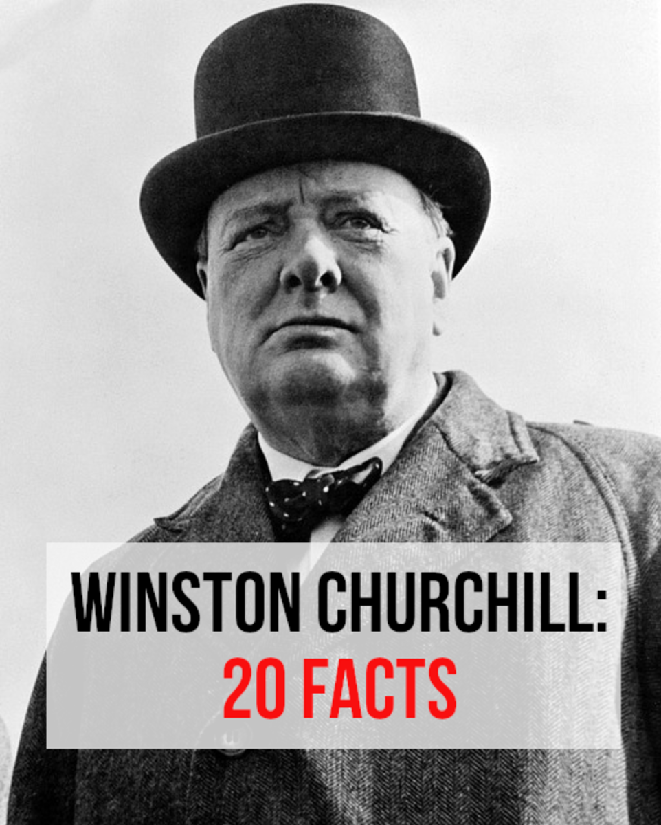 As well as being an outstanding wartime leader, Winston Churchill was also a journalist, historian, military officer, and artist.  Despite being born into a privileged family, he still had to overcome many setbacks and problems in his life.