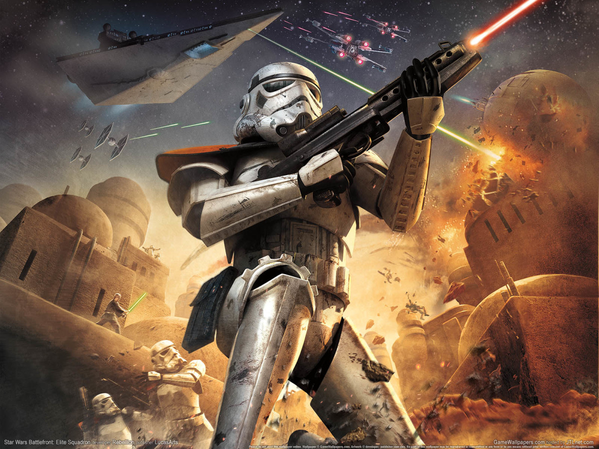 Star Wars Battlefront places you in command of soldiers throughout the Star Wars universe.