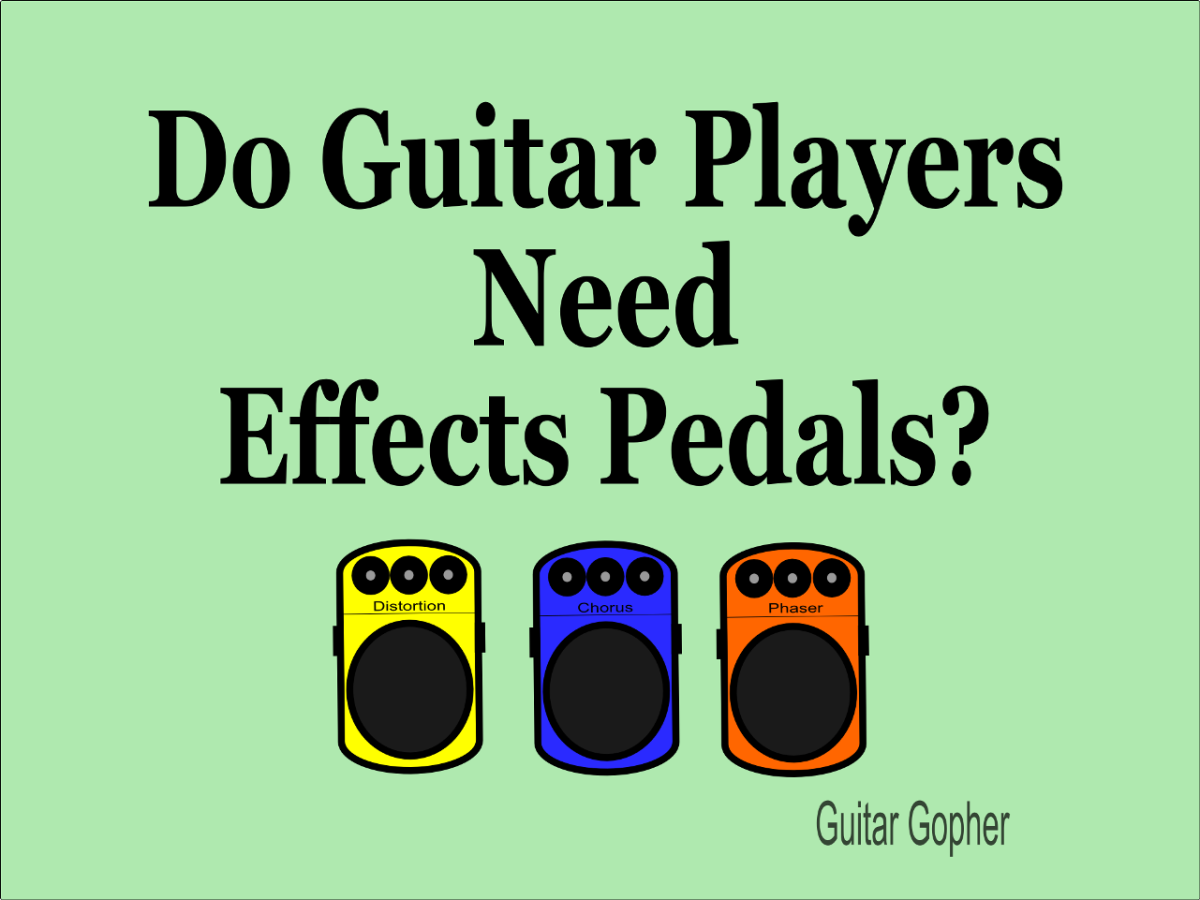 Effects pedals are right for some guitar players, but not for others.