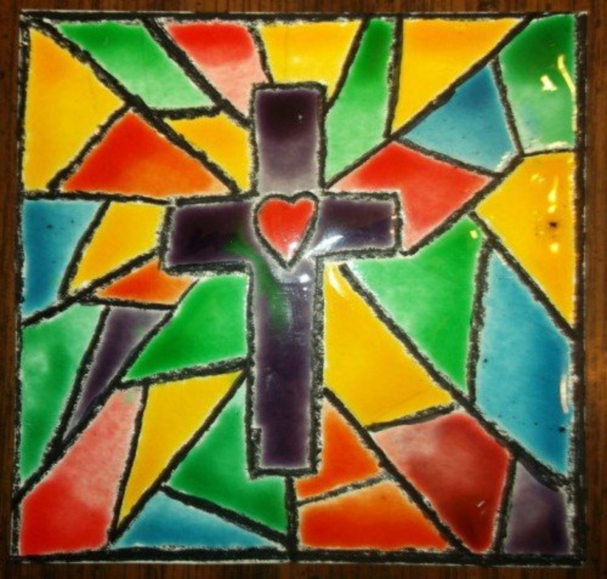 faux-stained-glass-art