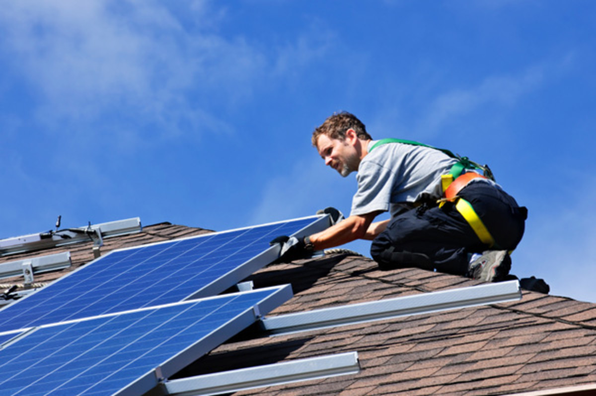 Solar panels need to be hooked up to a building's electrical system, which is a job for Solar Installers.