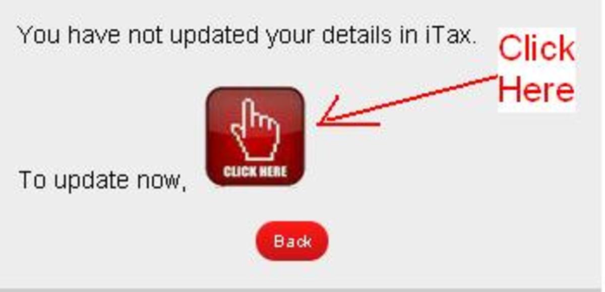 ITAX pin Update