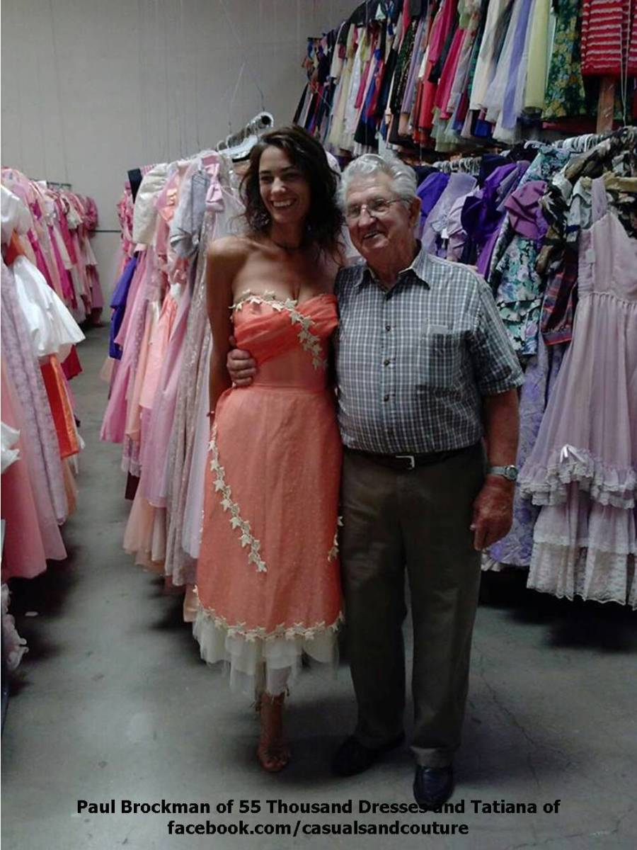 One Man's Guinness World Record Winning Collection is a Wonderland of Women's Gowns