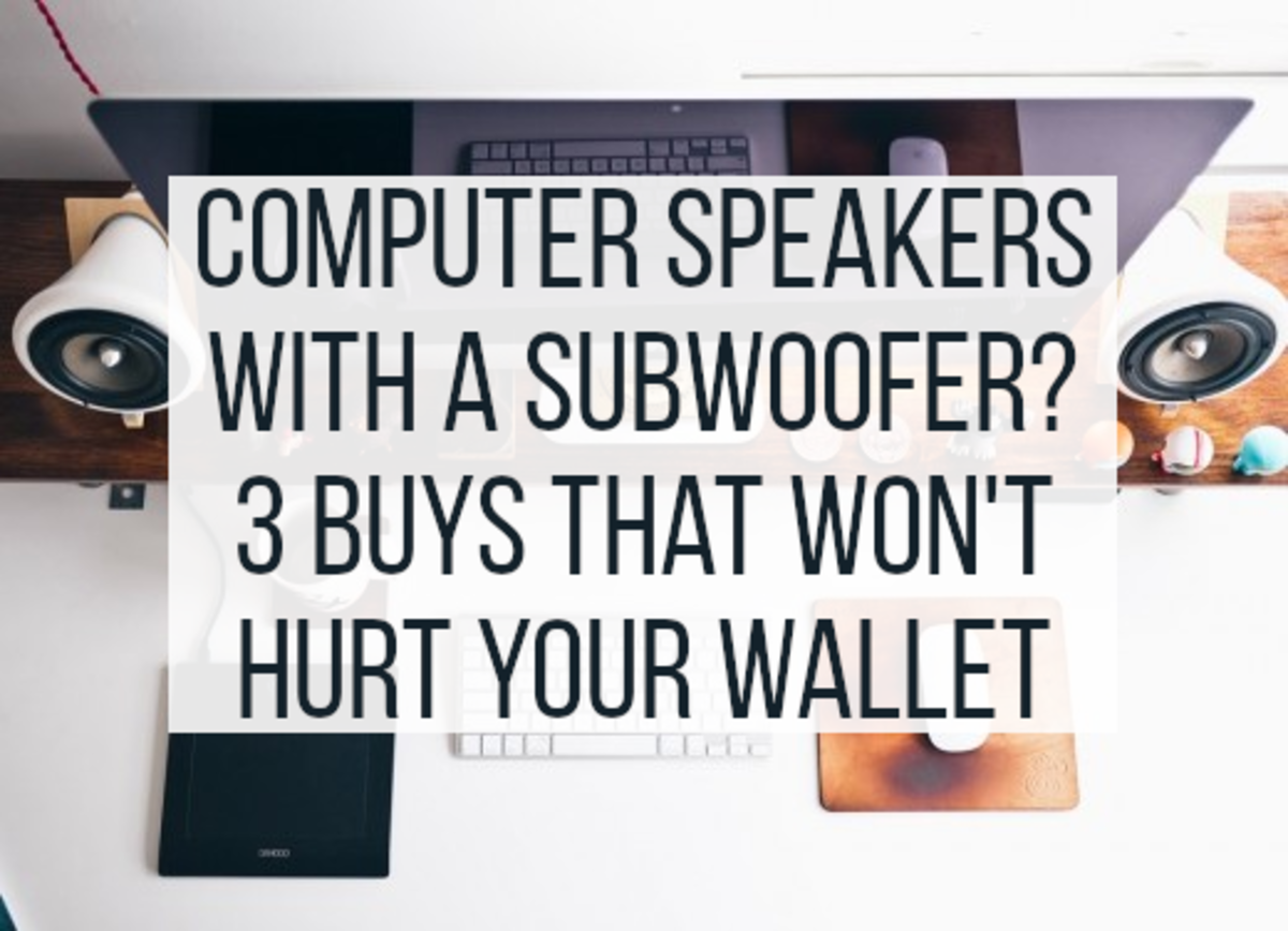 The 3 Best Computer Speakers With a Subwoofer for Under $50 in 2020