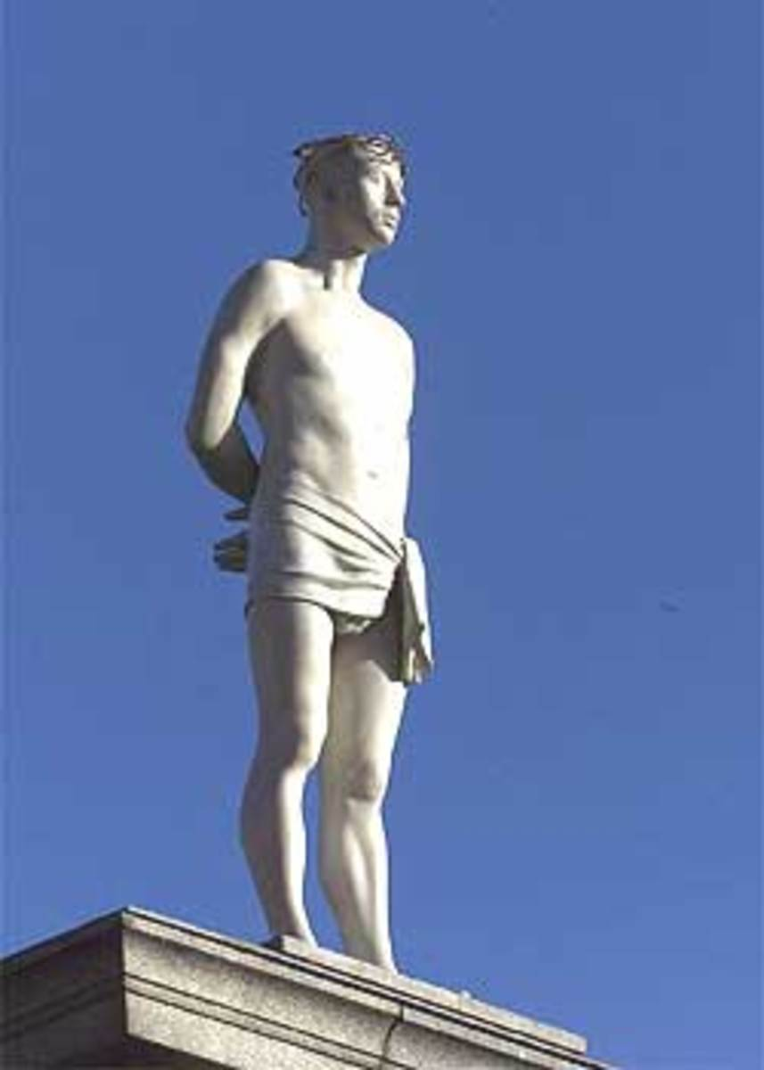 Mark Wallinger's Ecce Homo: The first statue to adorn the Fourth Plinth