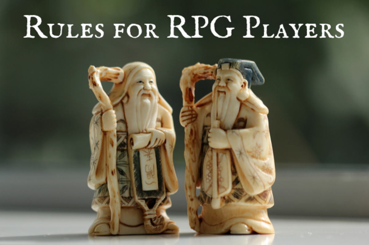 Seven Rules Every RPG Player Should Follow