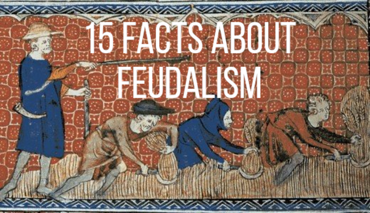 Feudalism was an was a fascinating social and economic system to live under, read on for 15 interesting facts...