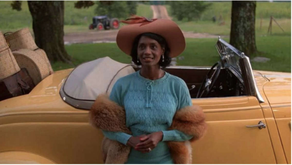 Margaret Avery portrays jazz singer Shug Avery in Steven Spielberg's The Color Purple.