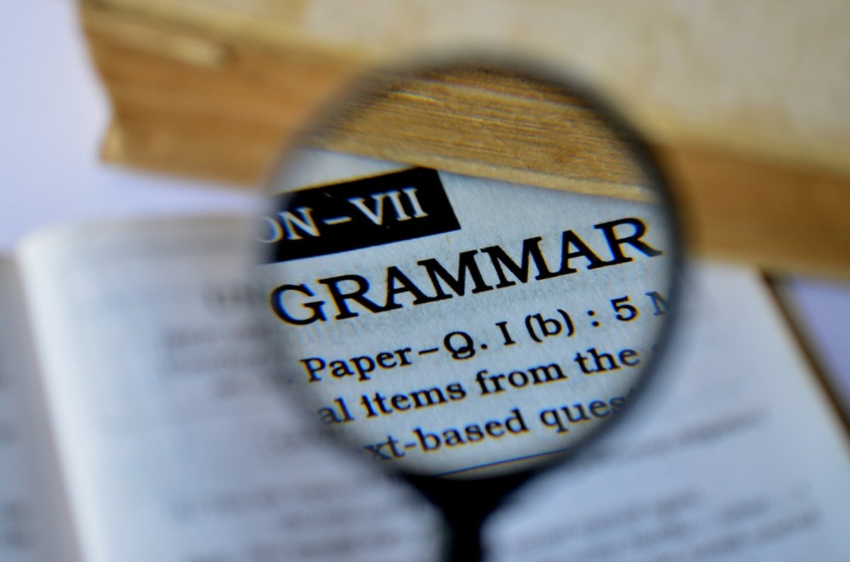 The Trouble With Grammar