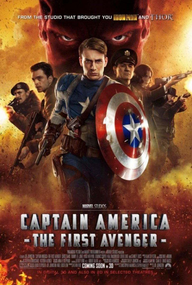 "Poster for ""Captain America: The First Avenger"""