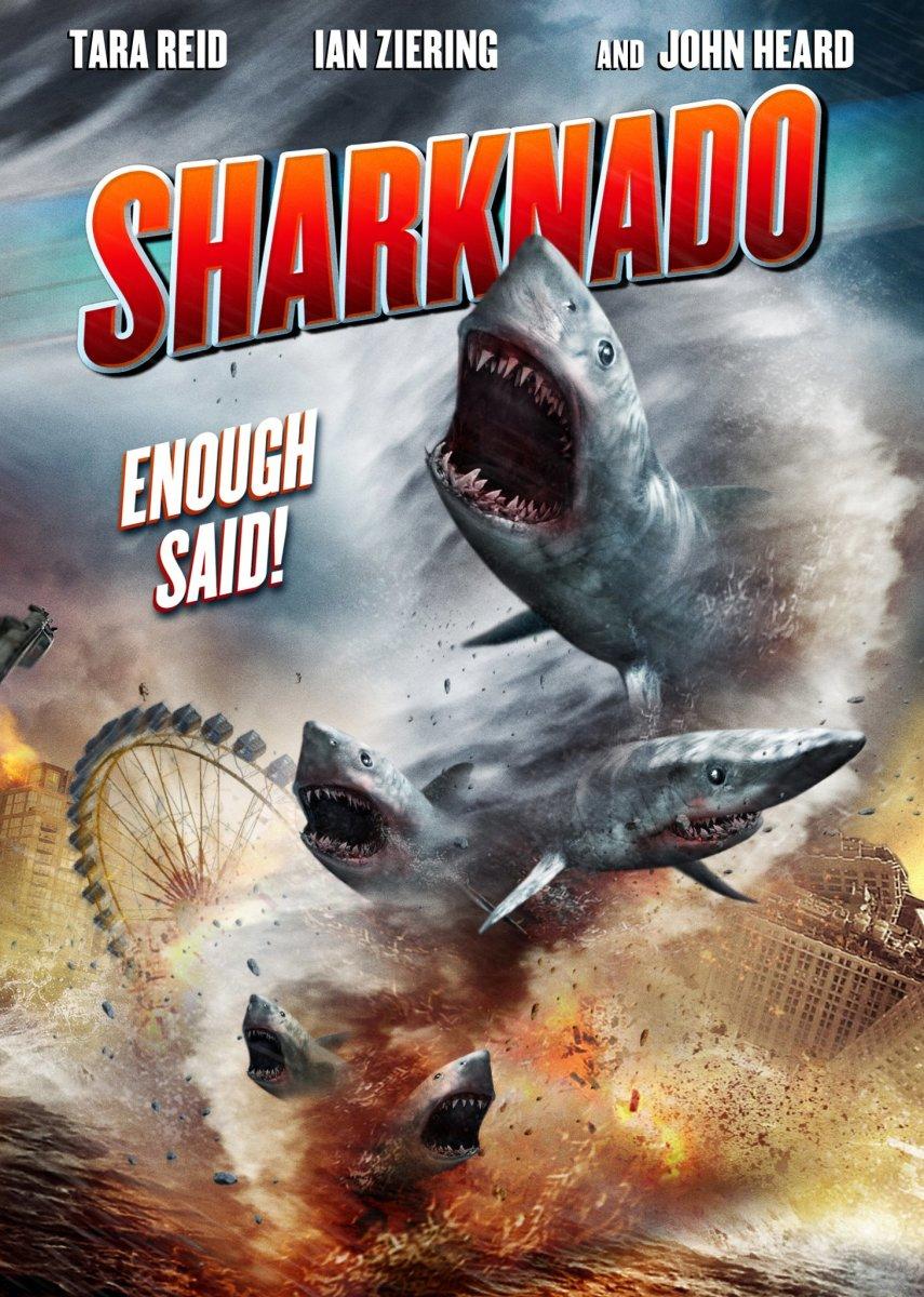 "Poster for ""Sharknado"""