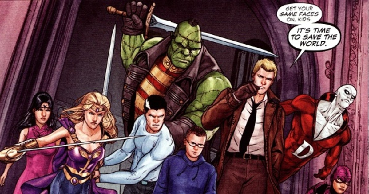 Getting into DC Comics: The Dark Titles (New 52)