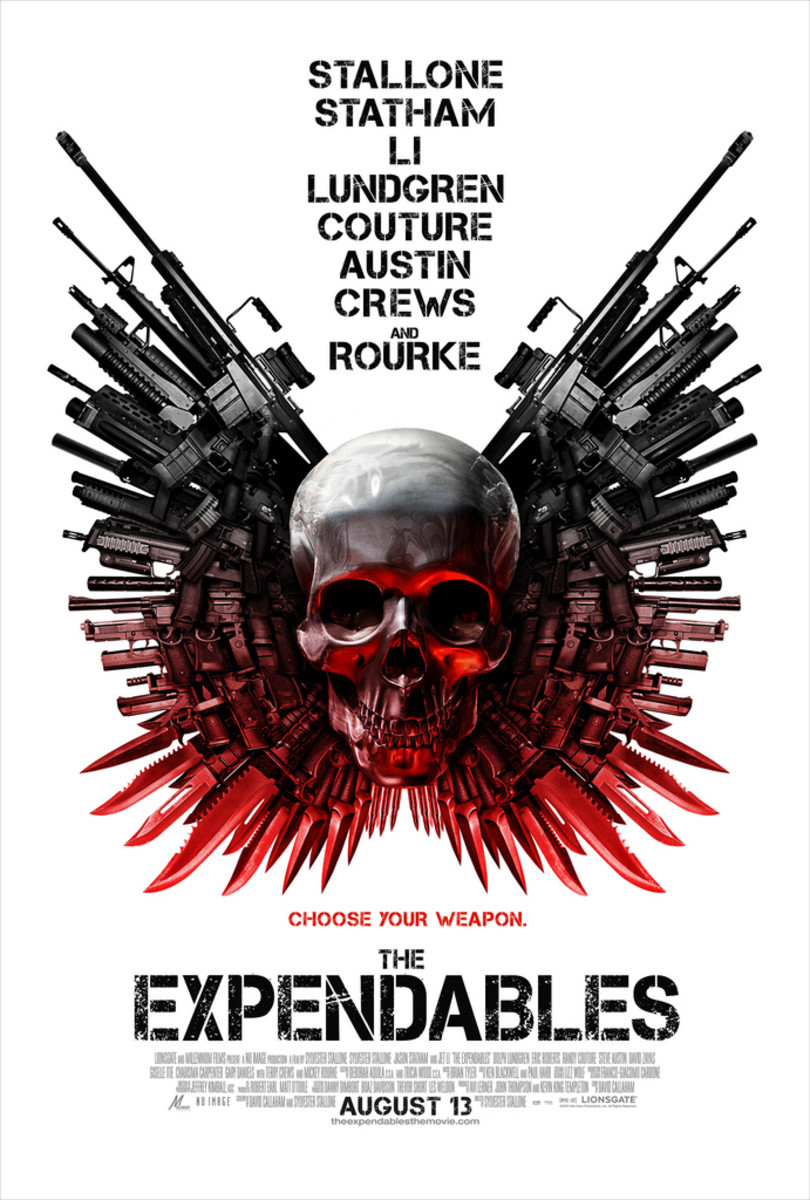 "Poster for ""The Expendables"""
