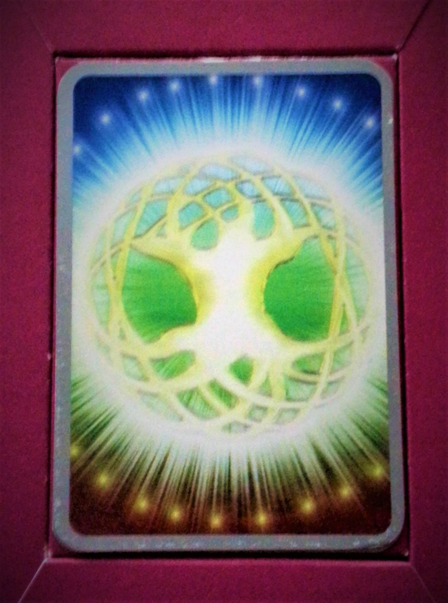 """Sacred Eden Tree"" Card from Angela McGerr's ""Heart and Soul Angel Cards"" Deck"