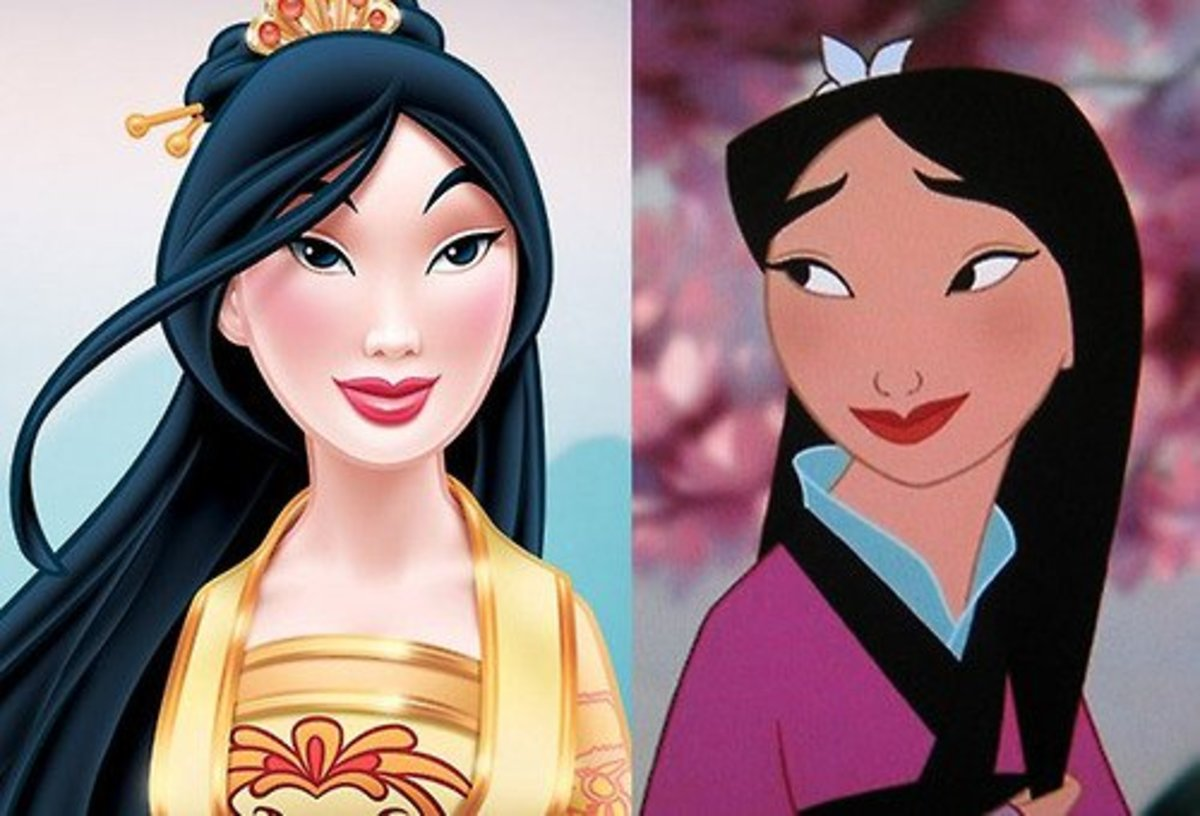 Disney redesigned Mulan in 2013, which attracted some controversy.