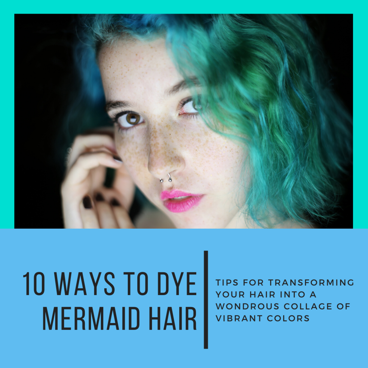This article will break down 10 different kinds of mermaid hair and how you can go about dying your hair to look like them.
