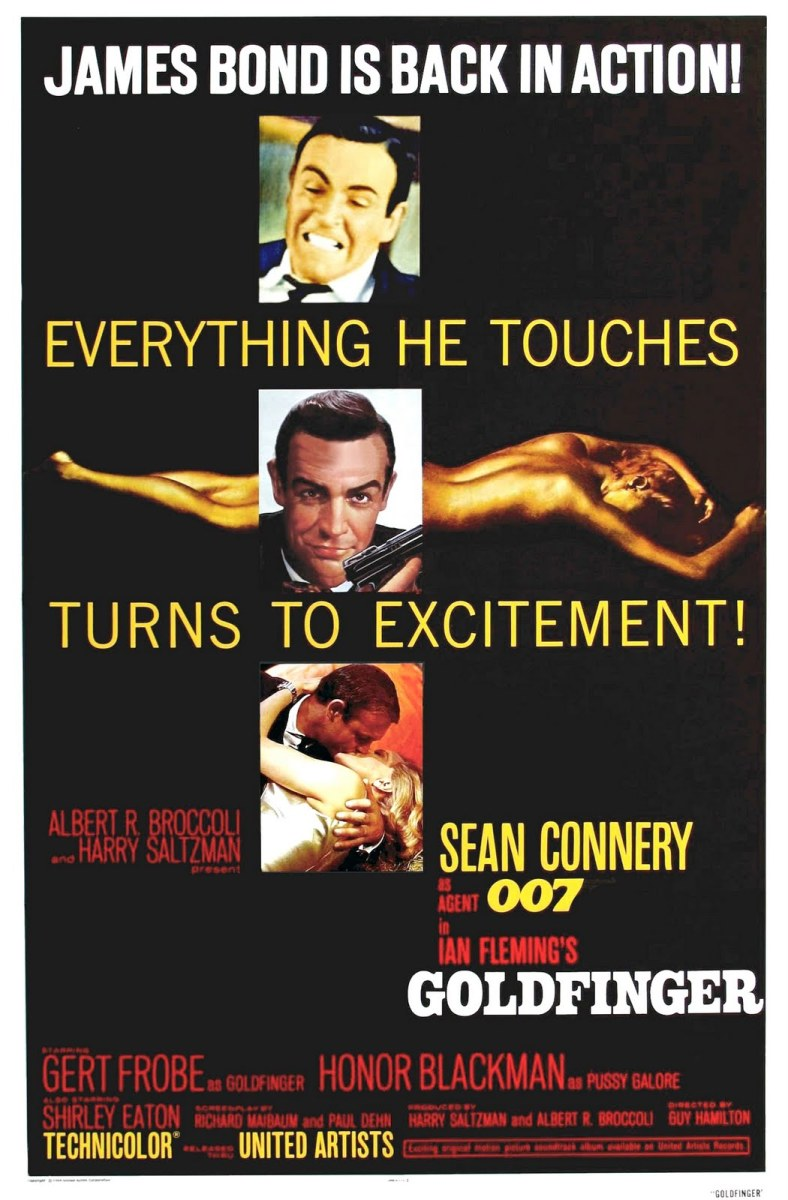 "Poster for ""Goldfinger"""
