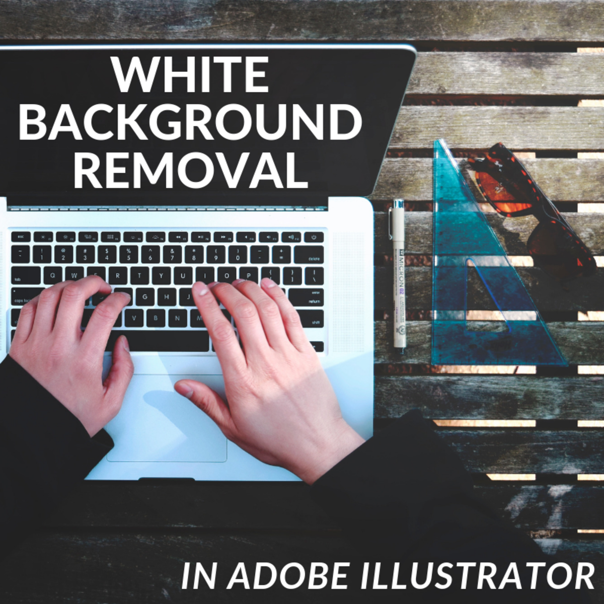 Images with white backgrounds don't incorporate well into presentations, documents, or other media. Learn how to remove the white background of a .jpeg image using the tools in Adobe Illustrator.