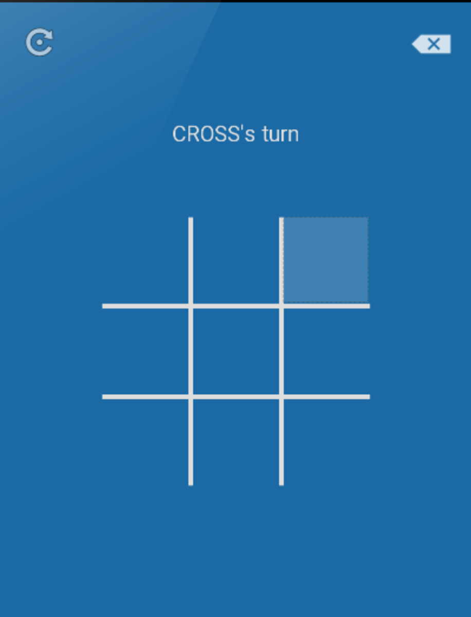 Building an android app - TicTacToe from scratch