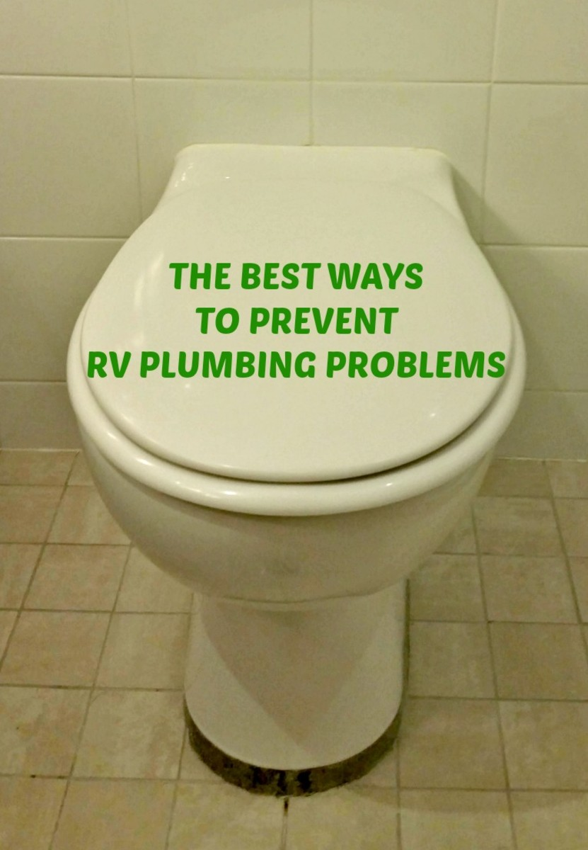 How to prevent RV plumbing prbblems.