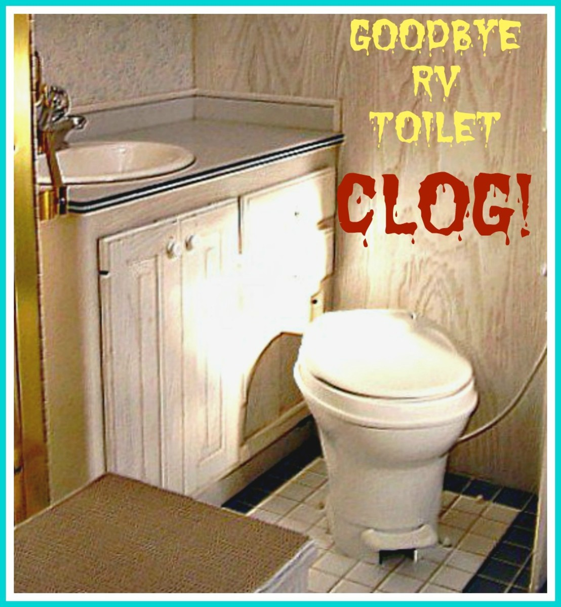 How to Clear an RV Toilet Clog
