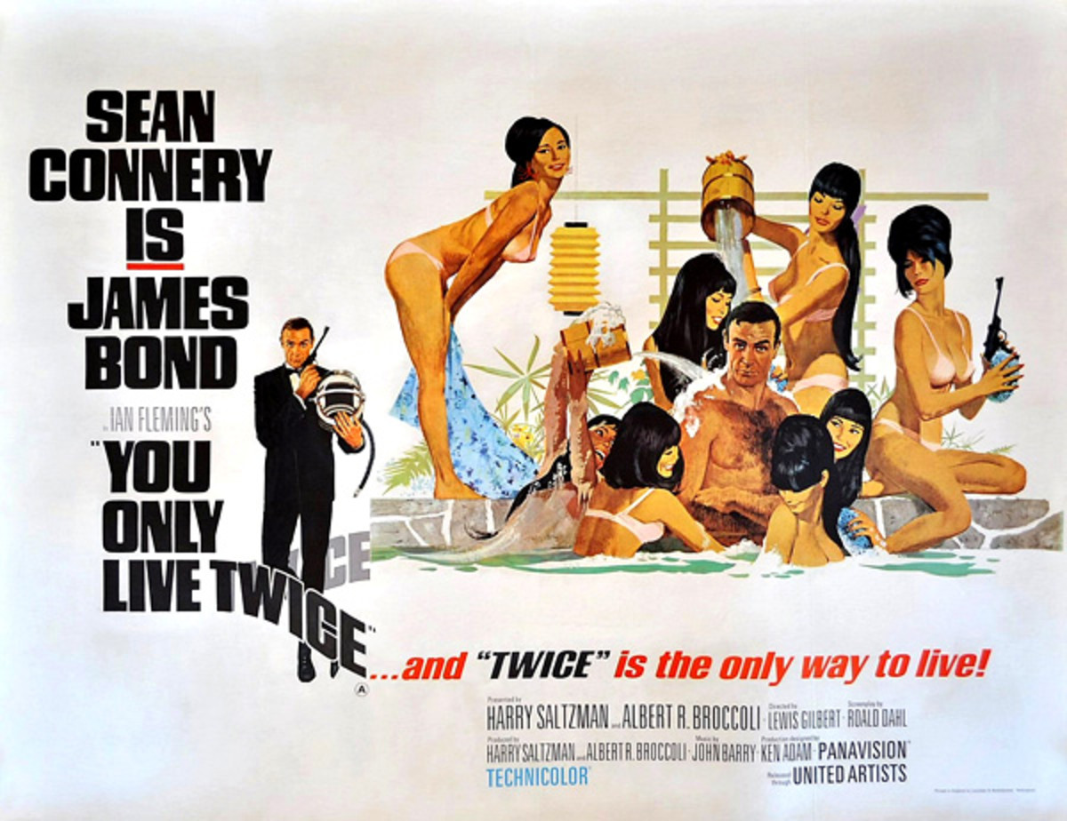 "Poster for ""You Only Live Twice"""