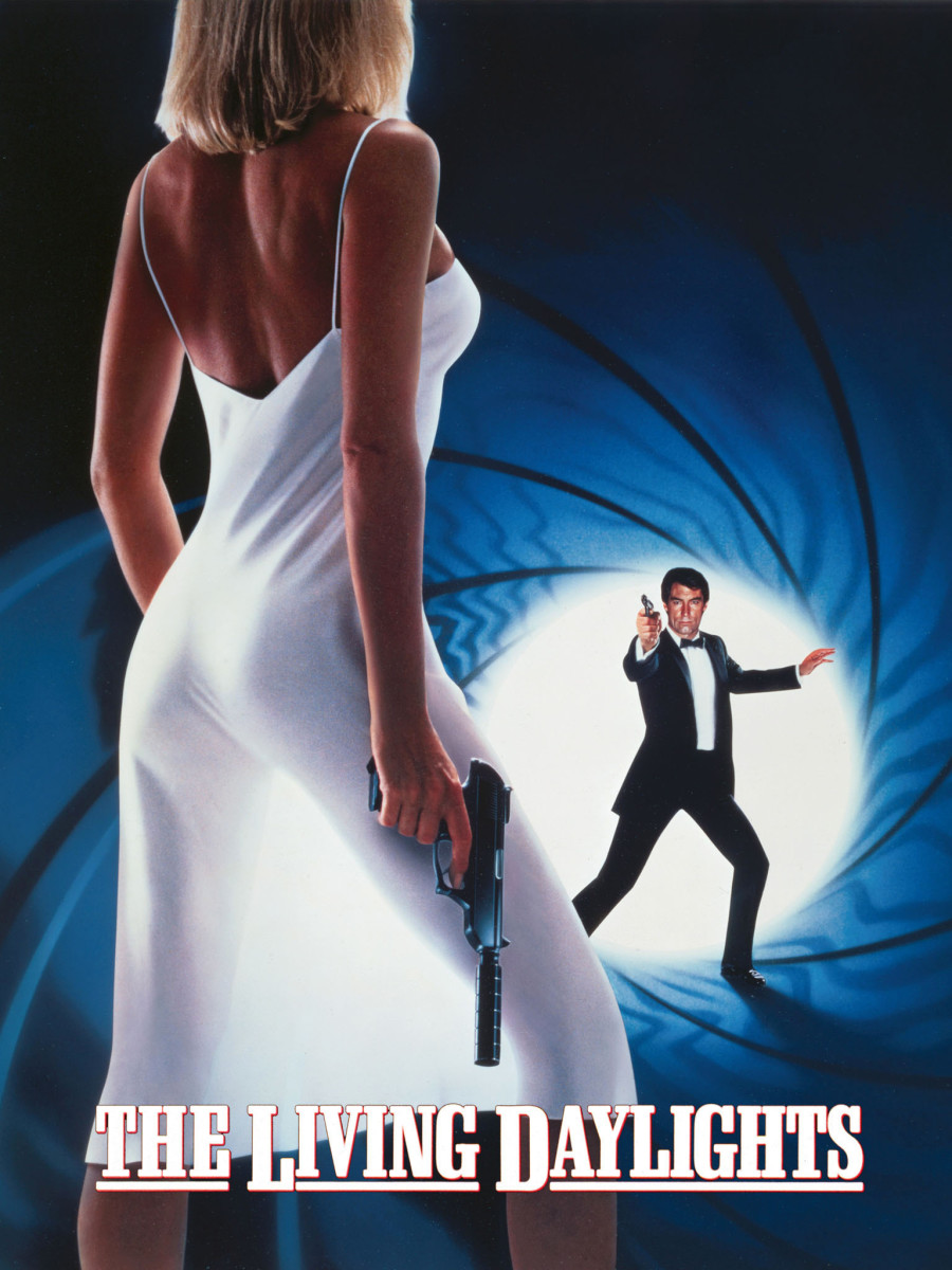 "Promotional poster for ""The Living Daylights"""