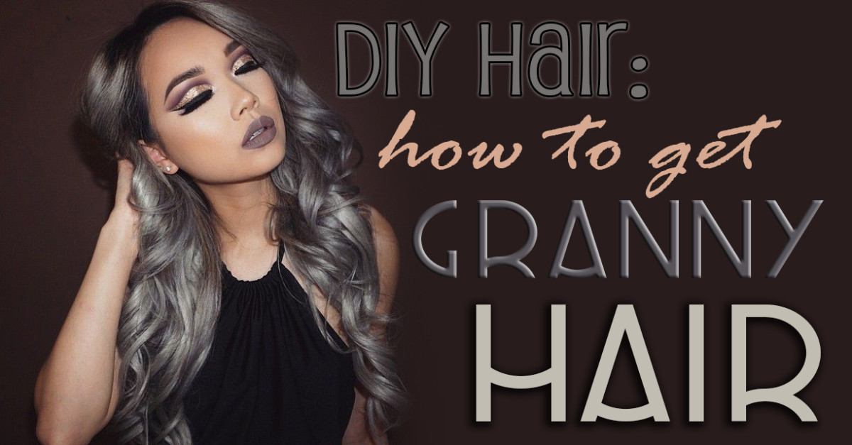 DIY Hair: How to Get Silver/Gray Hair
