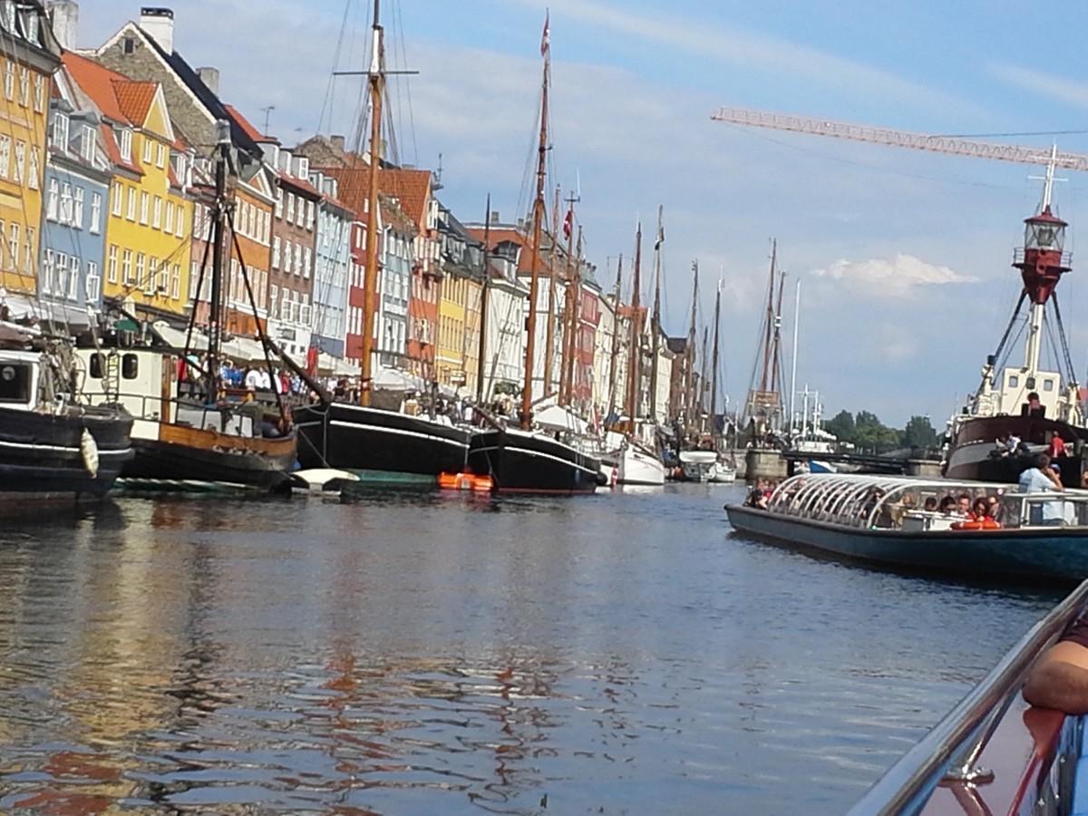 The Nyhavn Harbor is breathtaking!