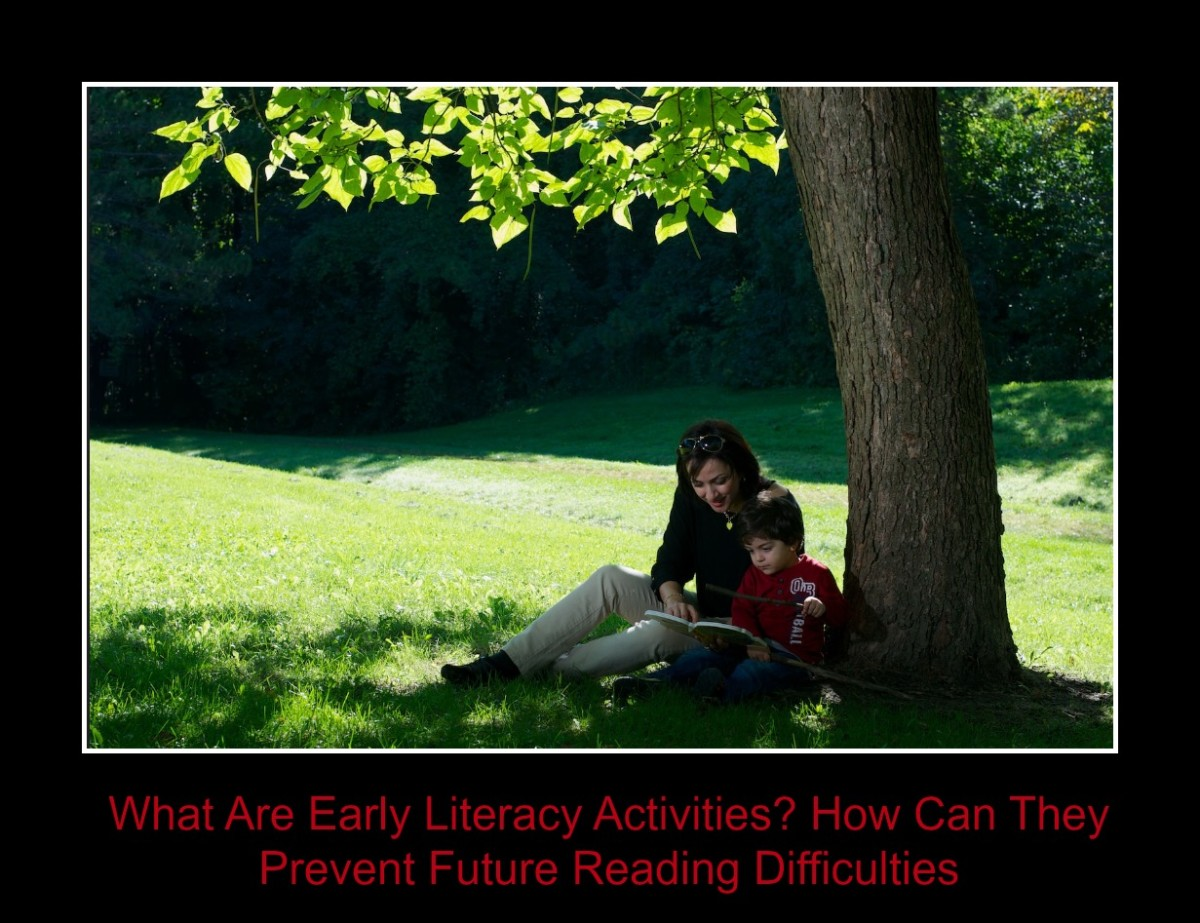 How to Prevent Reading Difficulties Before Your Child Starts School With Early Literacy Activities