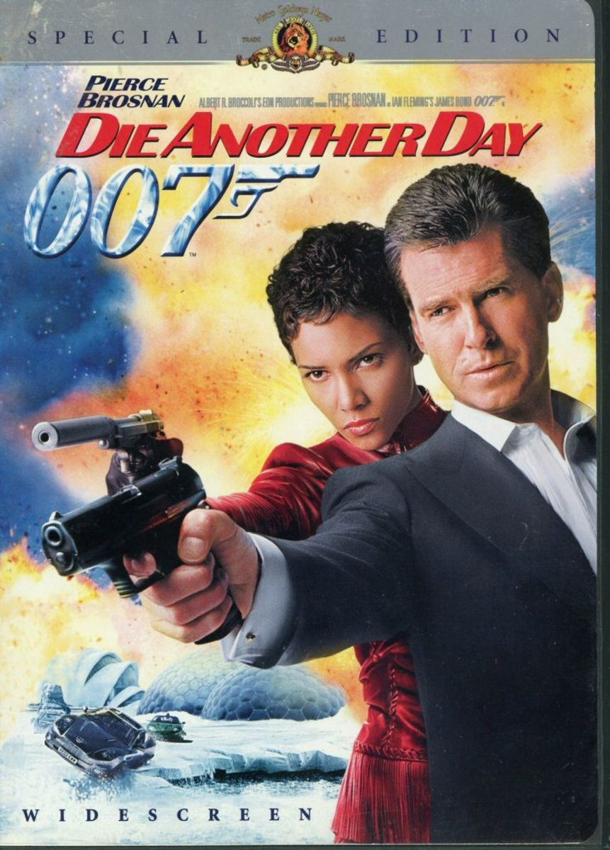 "DVD cover for ""Die Another Day"""