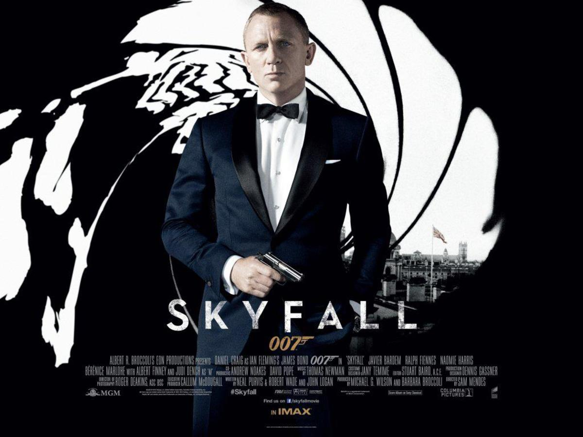 "Poster for ""Skyfall"""