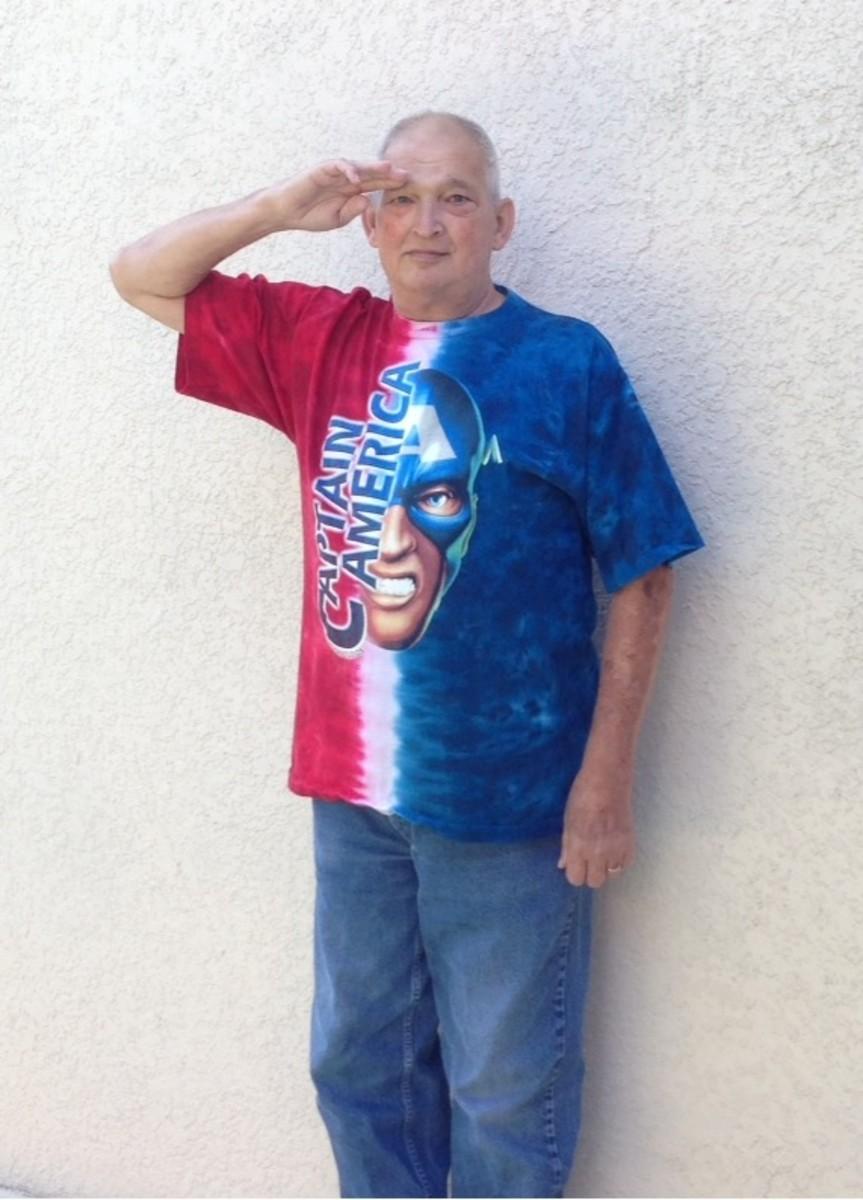 I salute YOU, Cap!