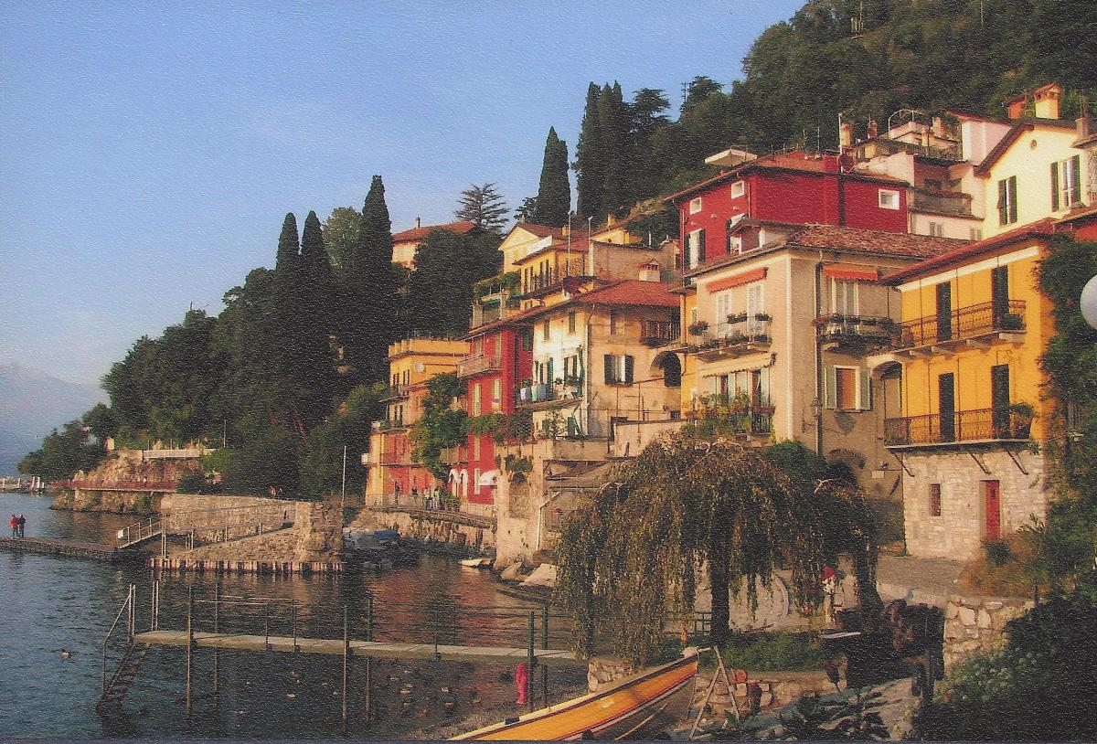 "Lake Como, Italy: For ""The Sweetness of Doing Nothing"""