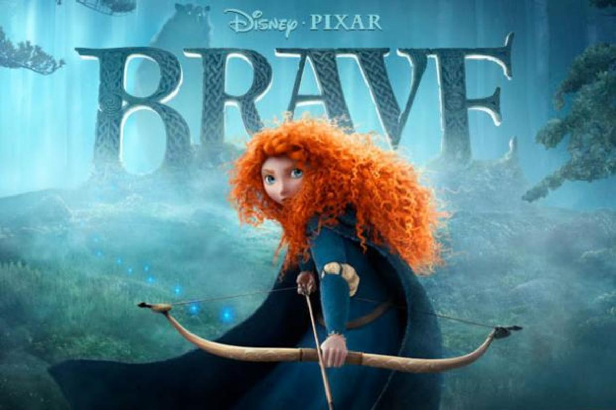 "Promotional poster for ""Brave"""