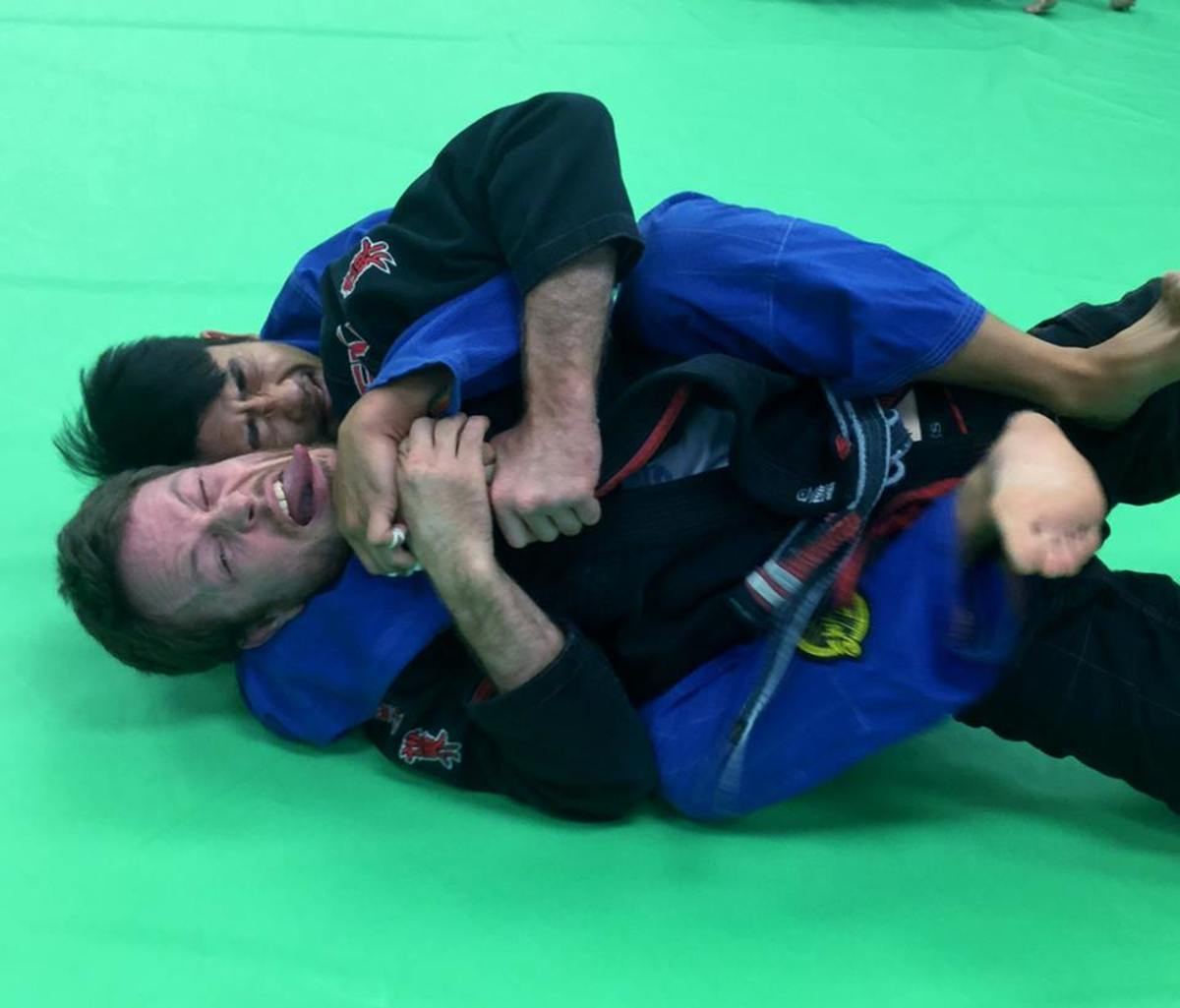 Escaping the Harness: A Brazilian Jiu Jitsu Tutorial