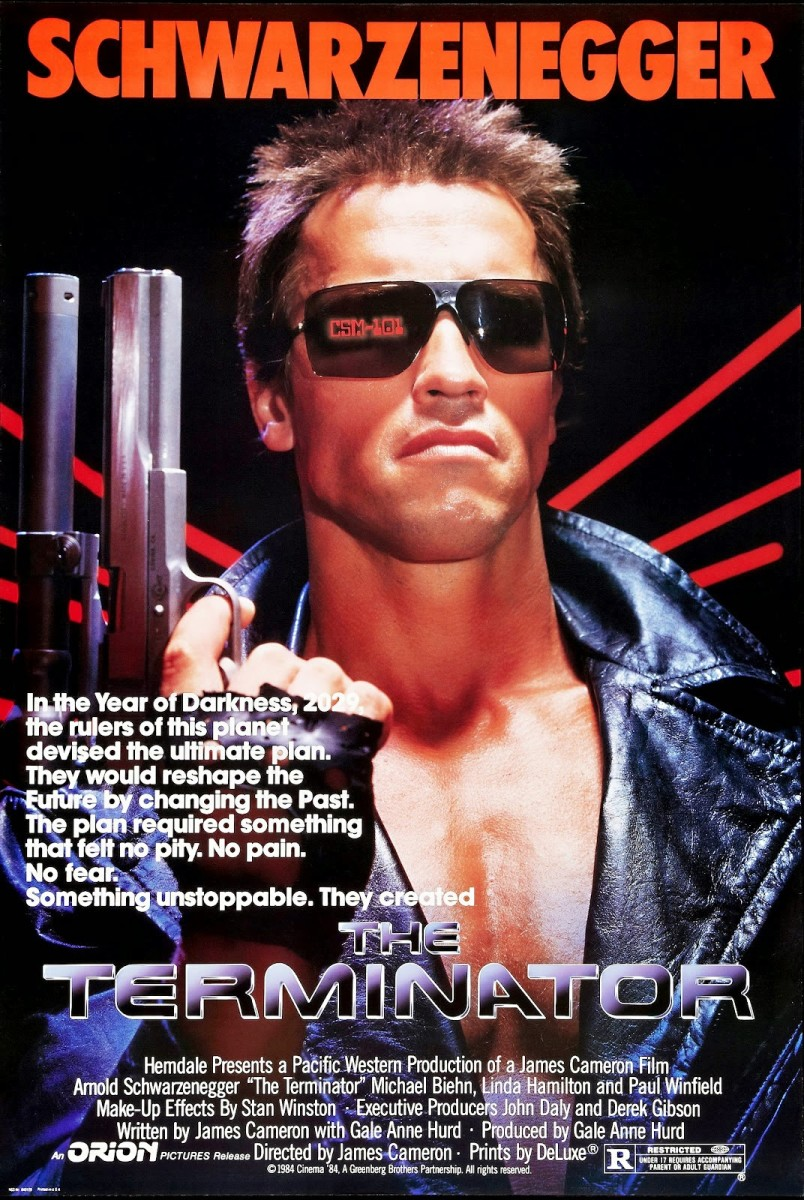 "Poster for ""The Terminator"""