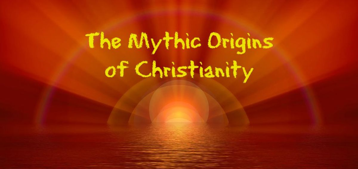 Christianity has much in common with mythic religions and the worship of sun-gods.