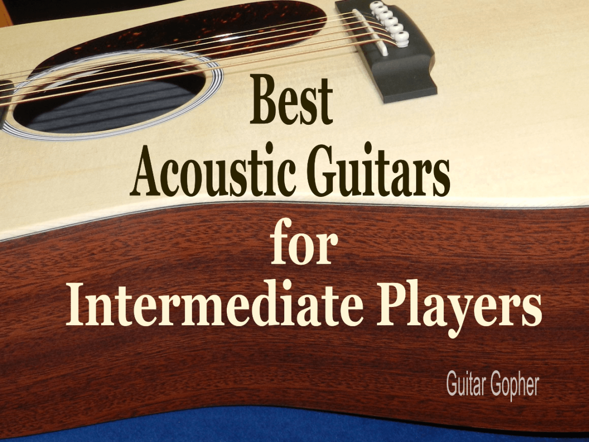 The best acoustic guitars for intermediate players are affordable instruments that sound great.
