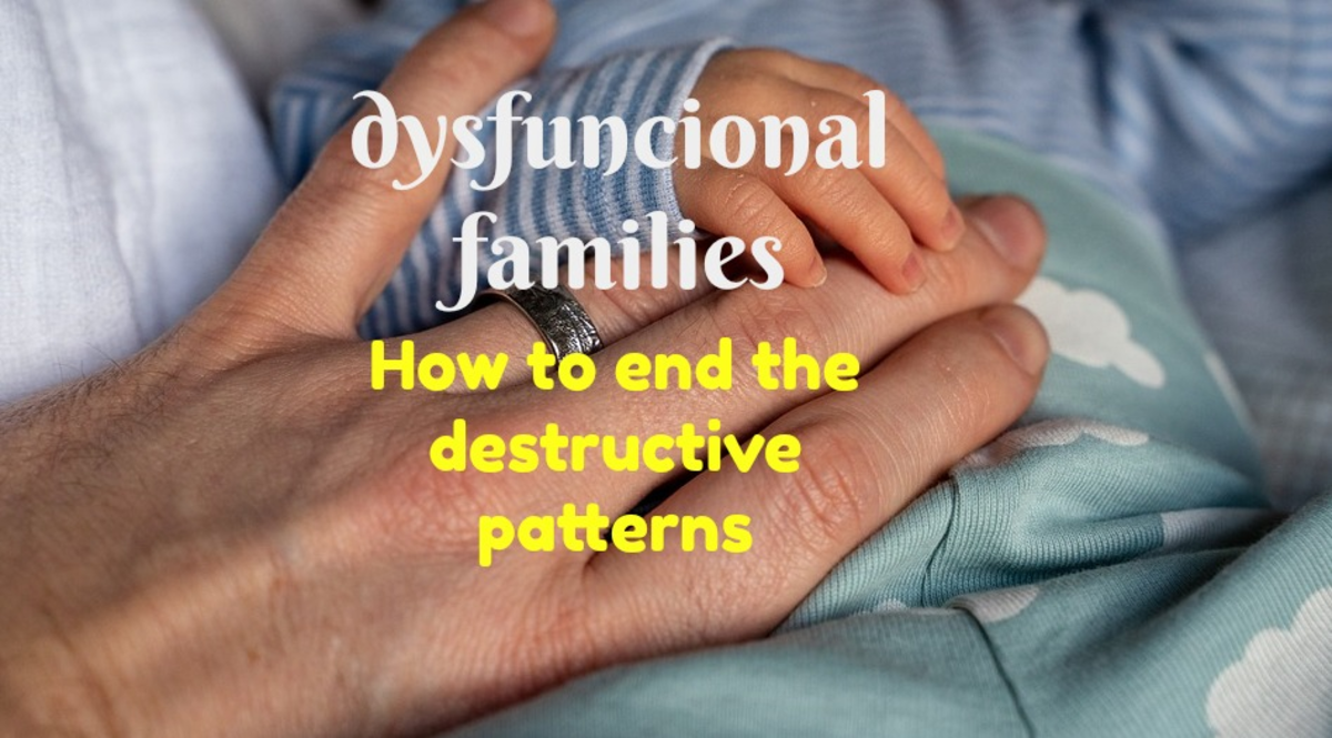 To stop the dysfunction in your family, you must identify it and figure out who or what is causing it.