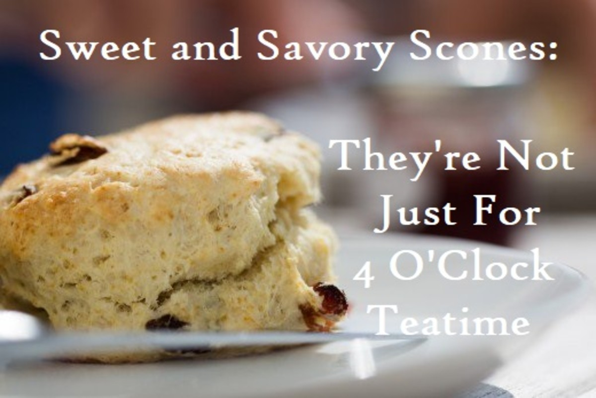 Sweet and Savory Scones—They're Not Just for 4 O'Clock Tea Time