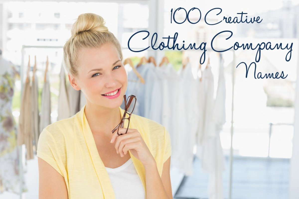 90 Creative Clothing Company Names